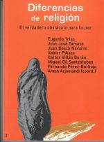 DIFERENCIAS DE RELIGION,Eugenio Trias